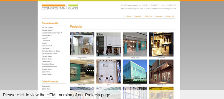 View the Flash Projects Page